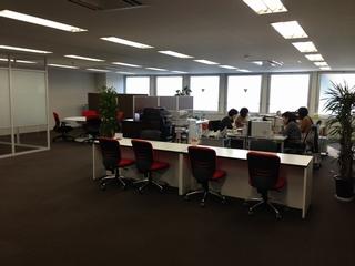 栗田勇法律事務所静岡オフィスの内観