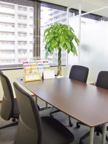 結の杜総合法律事務所の相談室